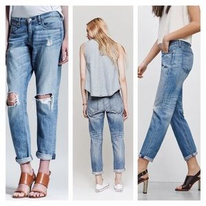 RAG AND BONE BOYFRIEND JEAN DENIM 27